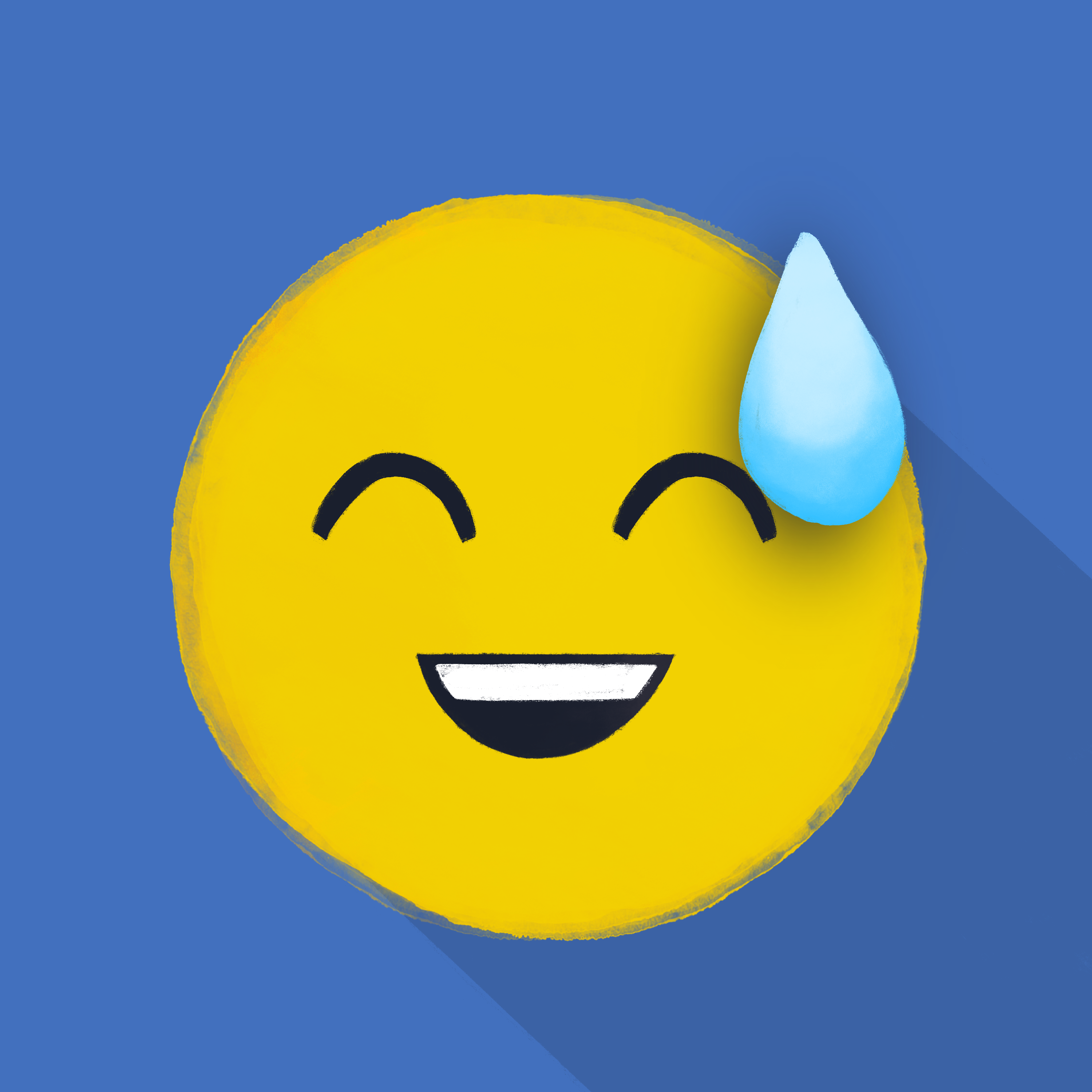 5-Emoji-Reimagined-Grinning_Face_With_Sweat_-Kiwani-Dolean